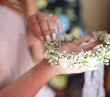 Ανθοστολισμοί γάμου Floral Tales